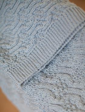 Плед  с узором мозаика
