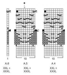 Кардиган Березовая роща - Схема 5