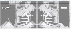 Жилет ландыш - Схема 3