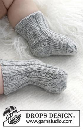 Детские носки узором резинка