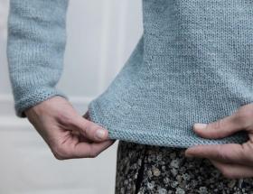 Пуловер Дельфинум - Фото 2