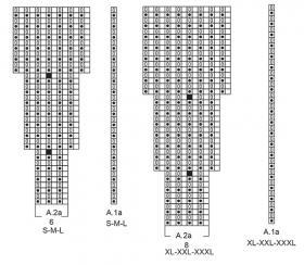 Кардиган Фридид - Схема 2