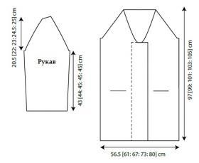 Пальто Хильдис - Выкройка 1