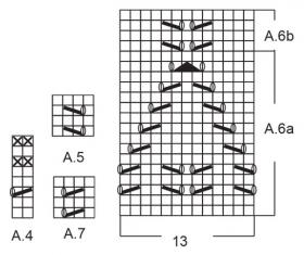 Пуловер Матрос - Схема 5