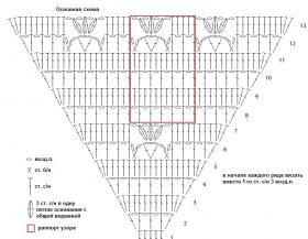 Шаль Антигона - Схема 1