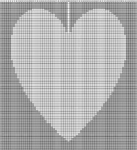 Подушка с любовью - Схема 1