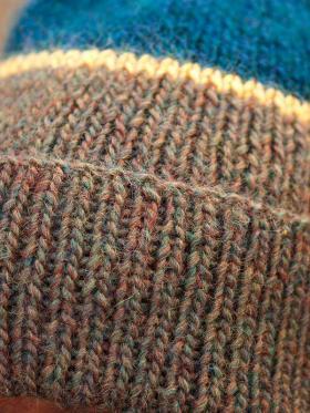 Веселая цветная шапка - Фото 1