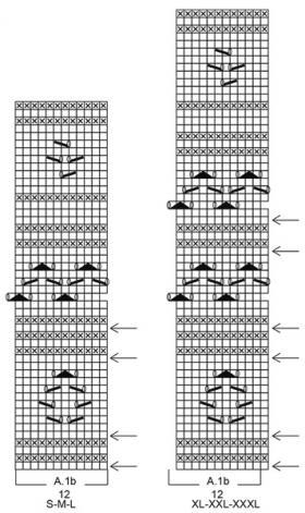 Пуловер Таормина - Схема 3
