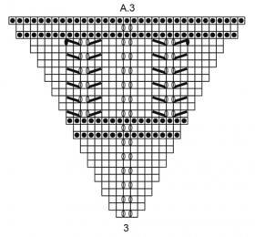 Шаль тень Эйре - Схема 4