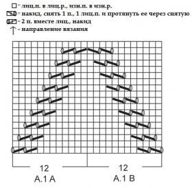 Жакет первая линия - Схема 1