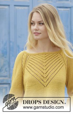 Пуловер Привет желтый - Фото 1