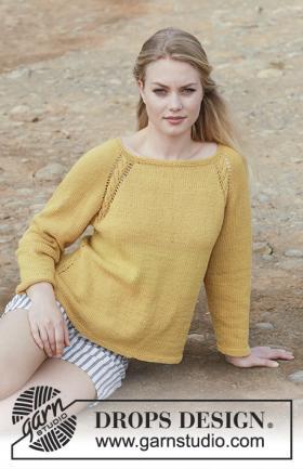 Пуловер Золотая девочка