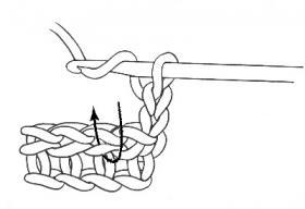 Детская шапка крючком по спирали - Фото 1