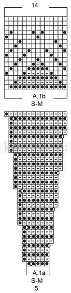 Свитер Пирамиды - Схема 1