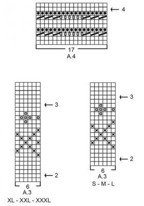 Пуловер Отдых в Рейкьявик - Схема 4