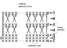 Комплект трио для новорожденного - Схема 2