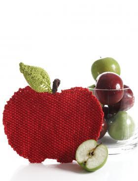 Кухонное полотенце-яблоко