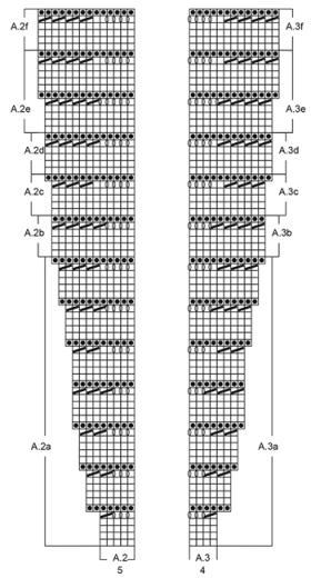 Кардиган Дюна - Схема 3
