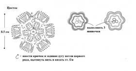 Кашемировый комплект - Схема 3