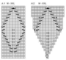 Жакет осенняя лоза - Схема 3