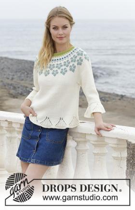 Пуловер Незабудки
