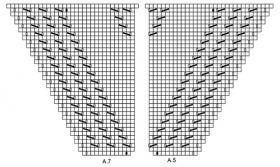 Шаль Альмерия - Схема 4