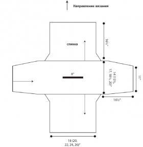 Свитер Сирена - Выкройка 1