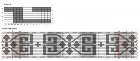Теплый кардиган на молнии - Схема 1