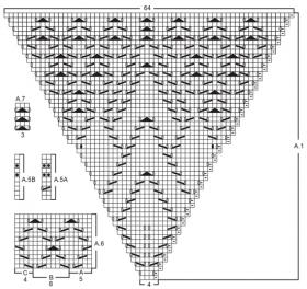 Кардиган Альтаир - Схема 2