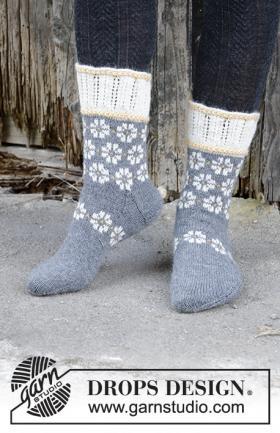 Носки Зимние маргаритки