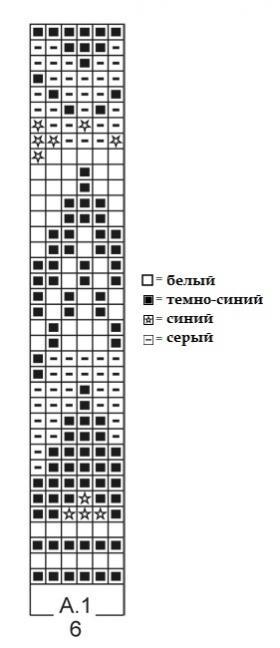 Носки Оулавюр - Схема 1