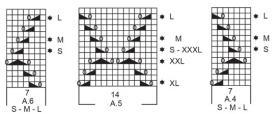 Джемпер Летние ракушки - Схема 5
