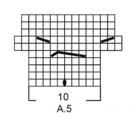 Джемпер Весенняя песня - Схема 4