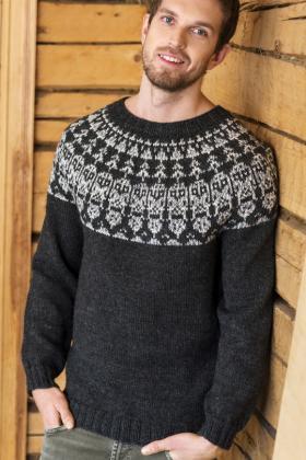 мужские свитера джемпера и пуловеры спицами