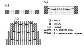 Варежки Малин - Схема 1