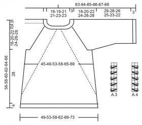Джемпер Душистый вереск - Выкройка 1