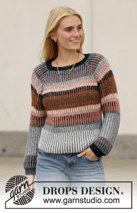 Пуловер Красочная осень