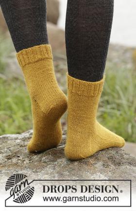 Горчичные носки - Фото 1