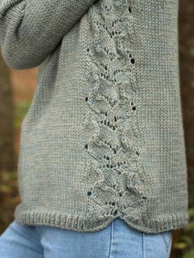 Пуловер фонтан - Фото 2