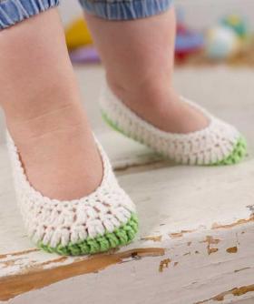 Тапочки следки для малыша