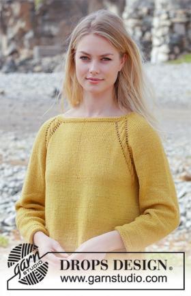Пуловер Золотая девочка - Фото 1