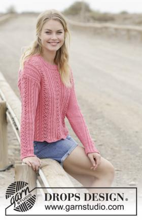 Пуловер Тайна сердца
