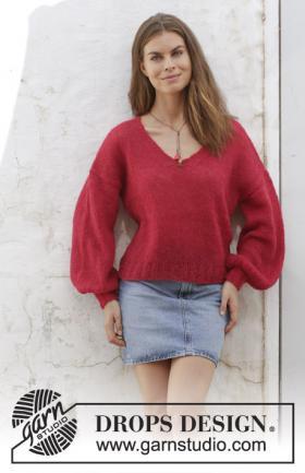 Пуловер Фламенко