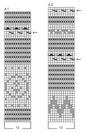 Кардиган Шпицберген - Схема 1