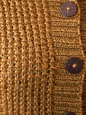 Кардиган с необычной текстурой - Фото 1