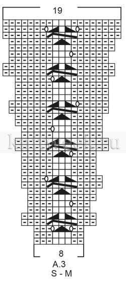 Кардиган Царица - Схема 3