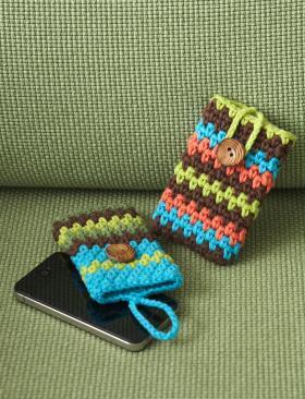 Разноцветный чехол для телефона
