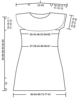 Платье пляжное свидание - Выкройка 1