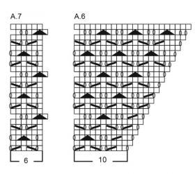Джемпер зимняя грация - Схема 3
