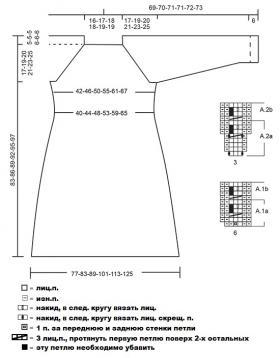 Платье Жозефина - Выкройка 1